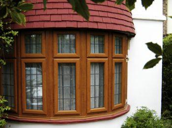 Bay bow windows, South London, Osborn Glass