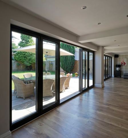Bifold Door Installations, South London, Osborn Glass