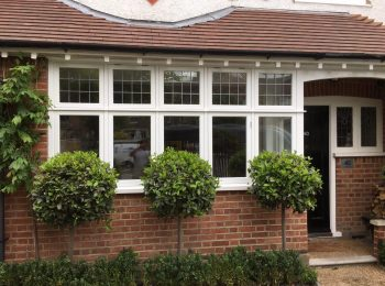 Timber windows London