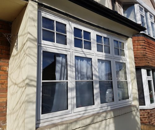 UPVc Heritage Casement window SE7