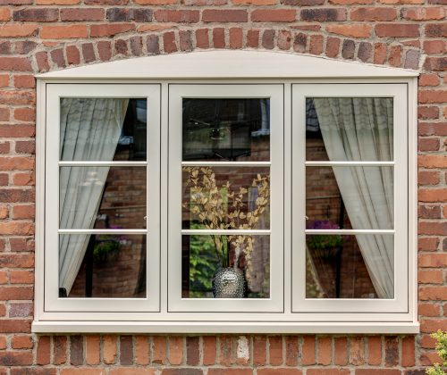 UPVc Heritage Flush Casement window - Welded Corners
