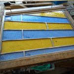 Stained Glass - Before Cementing - Osborn Glass