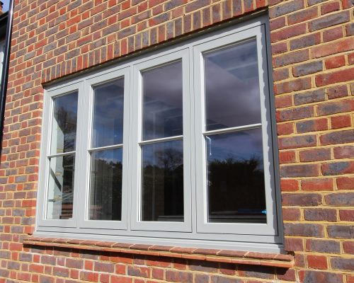 Agate Grey Heritage casement Window - South London