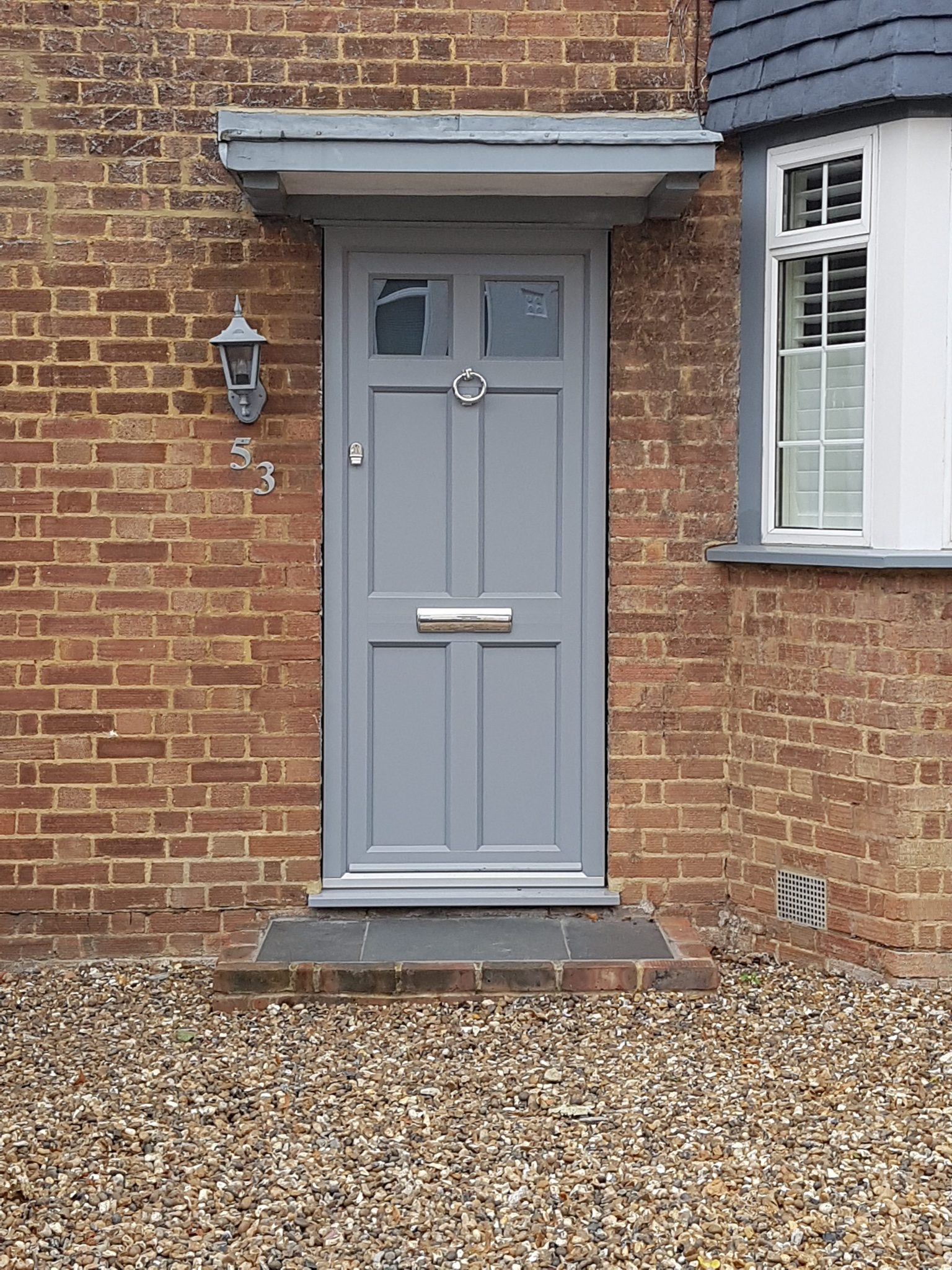 Suffolk Door - Timber Alternative - South London SE25