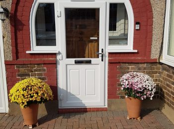 Arched UPVc Porch Door - Croydon, Surrey