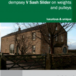 Timber heritage sash slider brochure