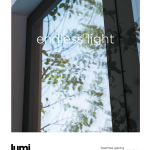 Frameless uPVC windows from Lumi brochure